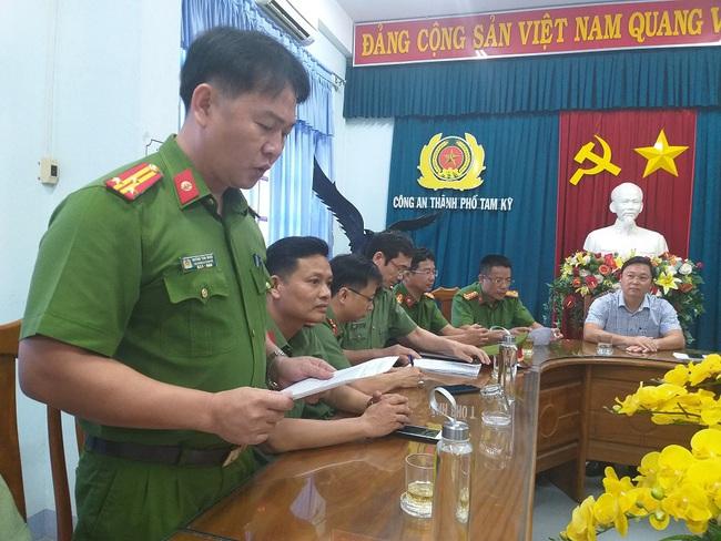 Công an Tam Kỳ nói về hành trình bắt tù nhân Triệu Quân Sự - Ảnh 1.