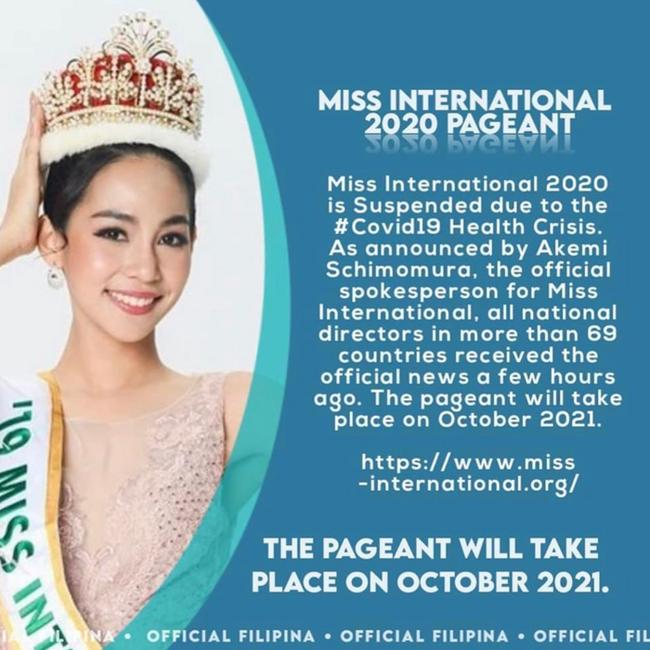 Rộ tin Hoa hậu Quốc tế 2020 hoãn 1 năm, Lương Thùy Linh lỡ cơ hội chinh phục vương miện? - Ảnh 1.