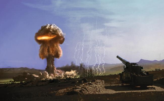Kinh hãi khẩu pháo hạt nhân của Liên Xô thời chiến tranh Lạnh - Ảnh 1.