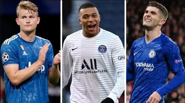 5 cầu thủ U21 được trả lương cao nhất Châu Âu: Mbappe số 1, ai số 2? - Ảnh 1.