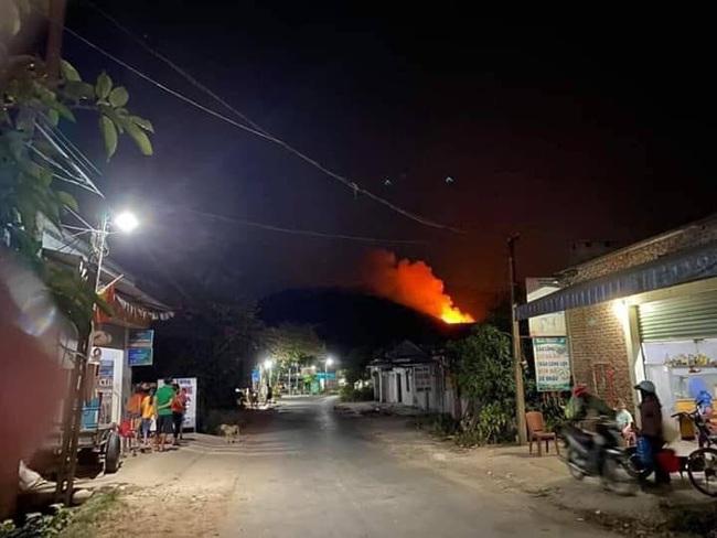Nghệ An: Trắng đêm khống chế cháy rừng, thiệt hại 4ha    - Ảnh 2.