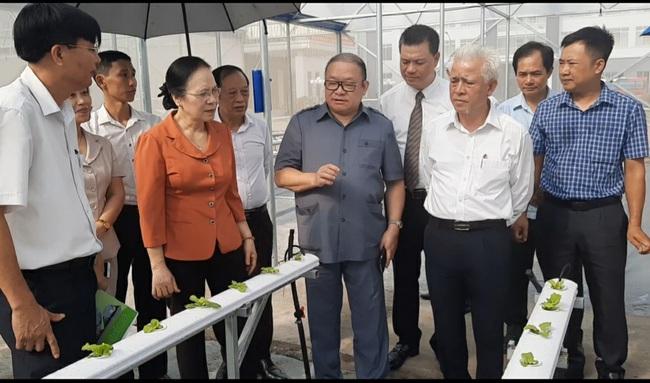 Chủ tịch Trung ương Hội NDVN:Tham quan mô hình ứng dụng công nghệ cao tại Hải Phòng - Ảnh 5.