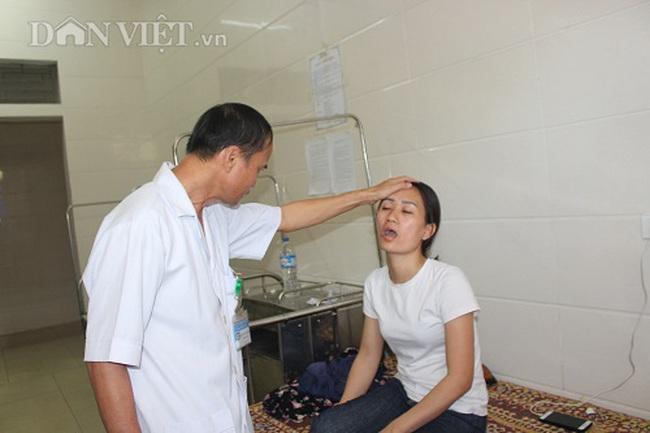 Hà Tĩnh: Nữ nhân viên Công ty thủy lợi đi điều tiết nước chống hạn bị đánh nhập viện - Ảnh 2.