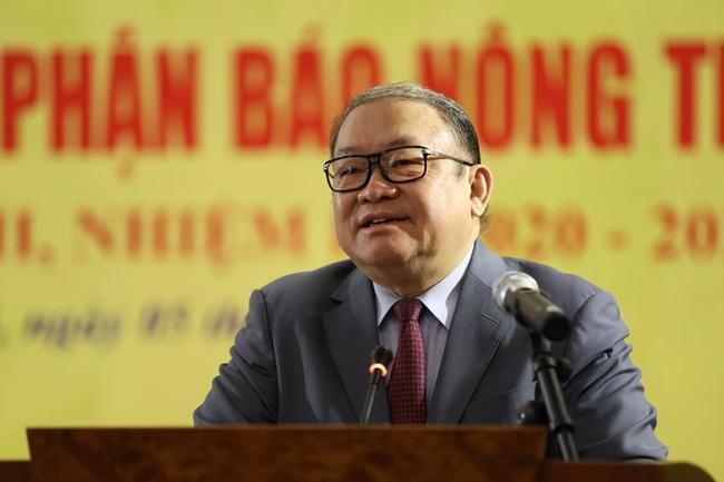Chủ tịch Hội NDVN Thào Xuân Sùng: Nâng cao tính nhân dân, tính chiến đấu của Báo NTNN - Ảnh 1.