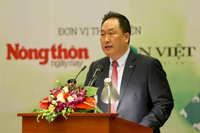 Doanh nhân Hàn Quốc: Dân Việt - tờ báo thực sự vì nông dân, nông nghiệp, nông thôn - Ảnh 1.