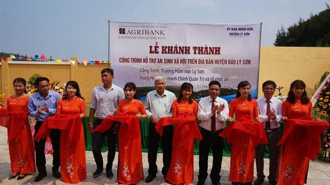 Quảng Ngãi: Agribank Lý Sơn đẩy mạnh phát triển kinh doanh, gắn trách nhiệm với cộng đồng - Ảnh 3.