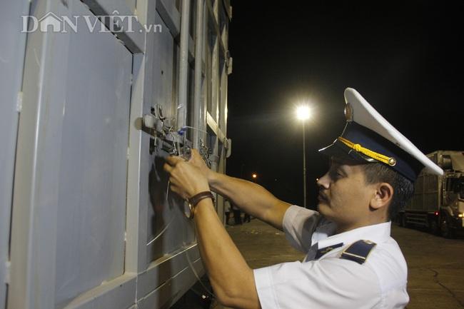 Thức cả đêm thông quan 970 con lợn nhập từ Thái Lan về cửa khẩu Lao Bảo - Ảnh 7.
