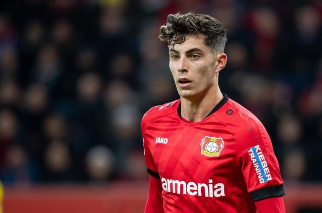 Kai Havertz có mùa giải bùng nổ cùng Leverkusen