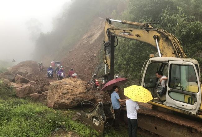 Lai Châu: Mưa lớn kéo dài, cuốn trôi một nhà dân - Ảnh 2.