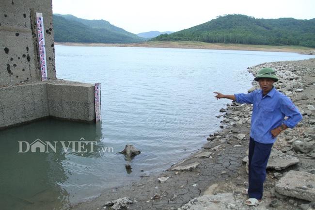 """Mưa ít, hồ nước ngọt khủng nhất Quảng Ninh """"khát"""" nước - Ảnh 3."""