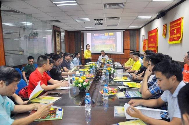 Báo NTNN/Dân Việt tham dự giải bóng đá các cơ quan thông tấn báo chí - Ảnh 1.