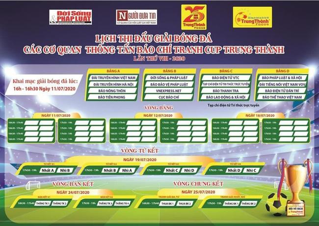 Báo NTNN/Dân Việt tham dự giải bóng đá các cơ quan thông tấn báo chí - Ảnh 2.