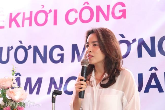 """Báo NTNN/Dân Việt khởi công """"Điểm trường mơ ước"""" ở vùng quê nghèo - Ảnh 7."""