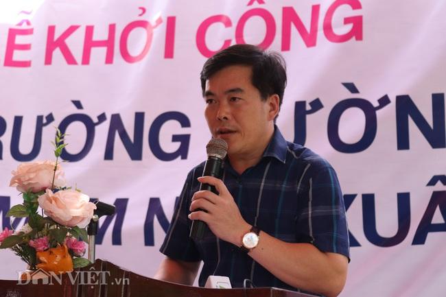 """Báo NTNN/Dân Việt khởi công """"Điểm trường mơ ước"""" ở vùng quê nghèo - Ảnh 9."""