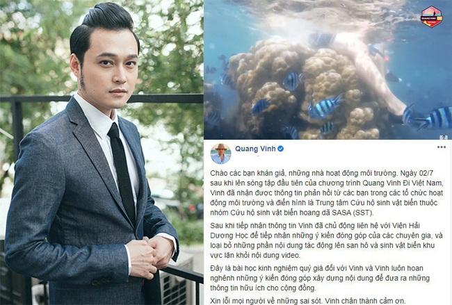 Bị chỉ trích phá hoại rạn san hô ở Phú Quốc, Quang Vinh chính thức có động thái mới - Ảnh 2.