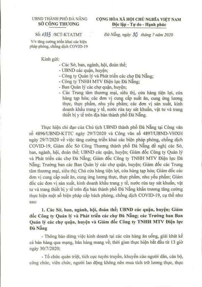 Đà Nẵng: Hàng hóa dồi dào, người dân không nên tích trữ - Ảnh 4.