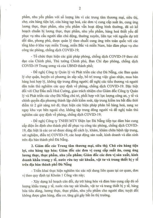 Đà Nẵng: Hàng hóa dồi dào, người dân không nên tích trữ - Ảnh 5.