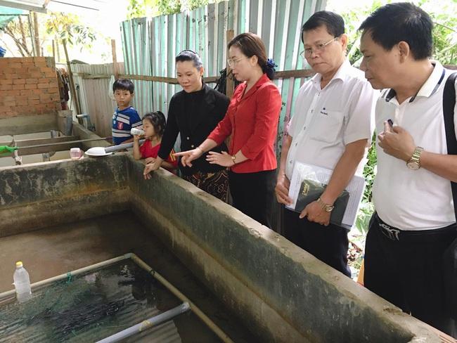 Phó Chủ tịch T.Ư Hội NDVN thăm Chi hội nuôi lươn điển hình khu vực ĐBSCL - Ảnh 2.