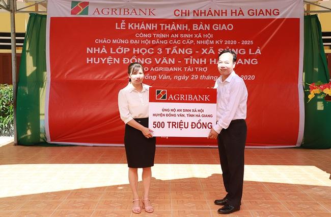 Khánh thành các công trình chào mừng Đại hội Đảng bộ Agribank lần thứ X, nhiệm kỳ 2020 - 2025 - Ảnh 4.