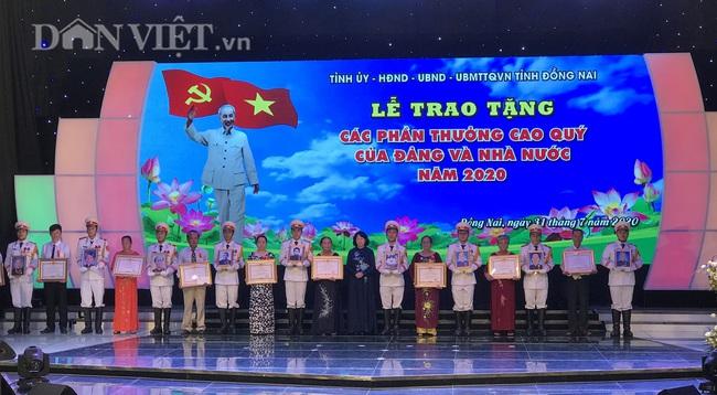 Phó Chủ tịch nước Đặng Thị Ngọc Thịnh dự lễ trao tặng các phần thưởng cao quý tại Đồng Nai - Ảnh 2.