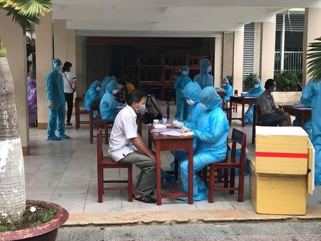 BN ở tuần thứ 35 của thai kỳ nhiễm Covid-19 tại Đà Nẵng - Ảnh 1.