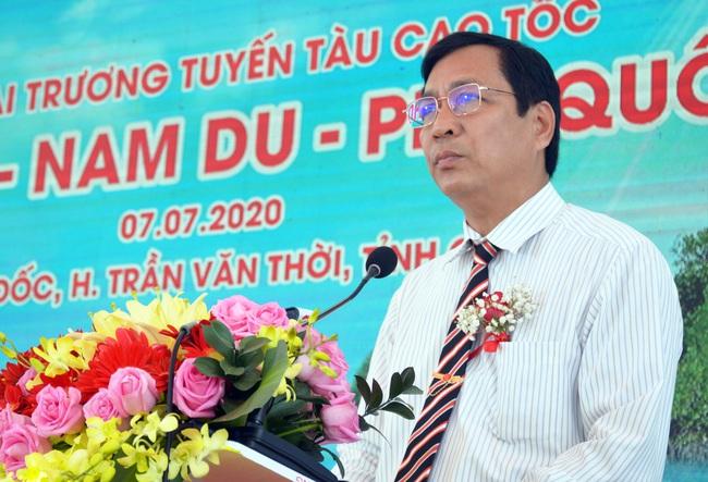 Tuyến cao tốc Cà Mau - Nam Du - Phú Quốc chính thức khai trương - Ảnh 1.
