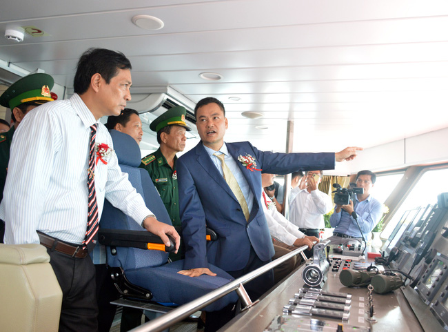 Tuyến cao tốc Cà Mau - Nam Du - Phú Quốc chính thức khai trương - Ảnh 3.