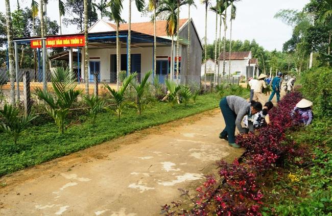 Quảng Ngãi: Lan tỏa Chương trình xây dựng nông thôn mới - Ảnh 1.