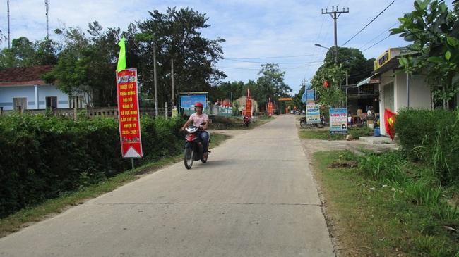 Nông thôn mới Quảng Nam: Làng quê Quế Minh chuyển mình  - Ảnh 2.