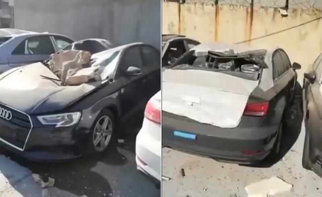 Tin xe (13/8): 500 xe Audi mới thành đống sắt vụn sau vụ nổ kinh hoàng - Ảnh 1.