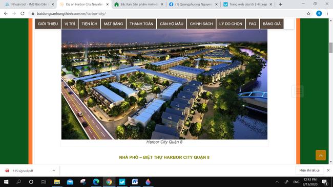 Cảnh giác với chào mời dự án nhà ở tại cảng Phú Định, quận 8 - Ảnh 2.