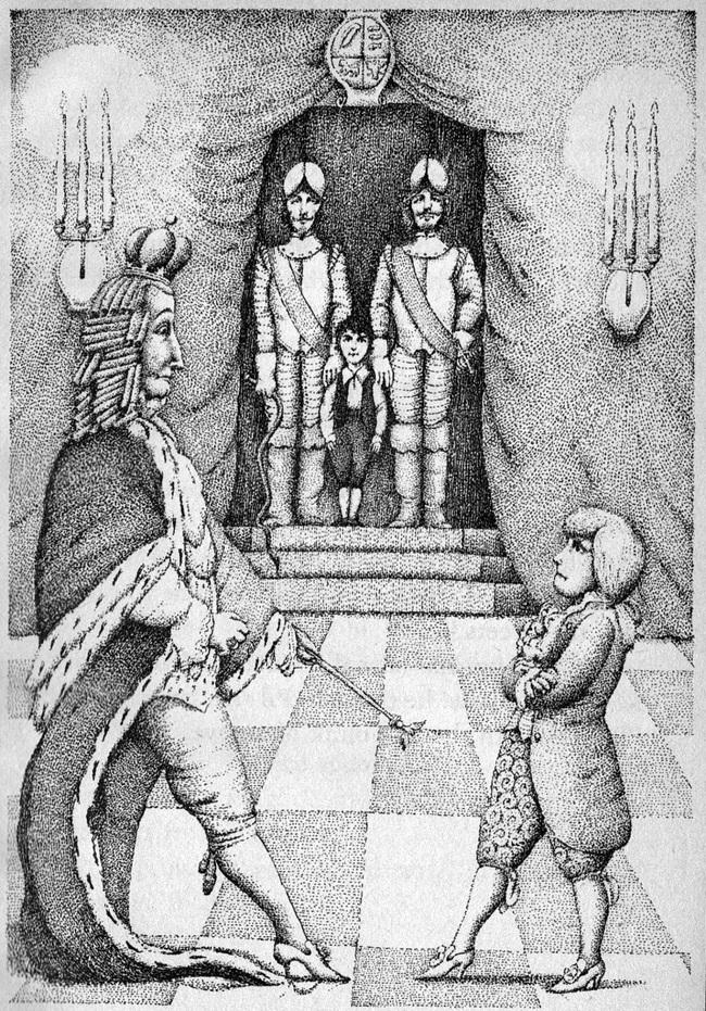 Kinh hãi con vua phạm lỗi, đứa trẻ học cùng bị trừng phạt thay - Ảnh 8.