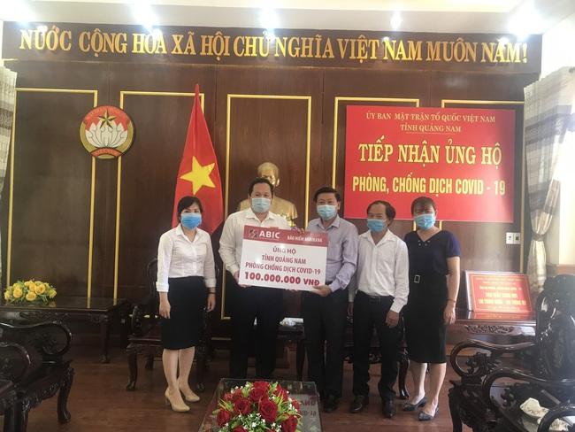 Công ty Cổ phẩn bảo hiểm Ngân hàng Nông nghiệp: Tiếp sức cùng Đà Nẵng, Quảng Nam phòng chống dịch Covid-19 - Ảnh 3.