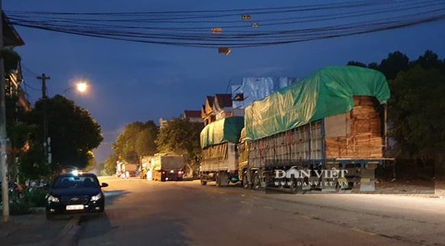 """Yên Bái: Hàng chục xe quá tải xếp hàng dài, dấu hiệu """"né"""" trạm cân - Ảnh 1."""