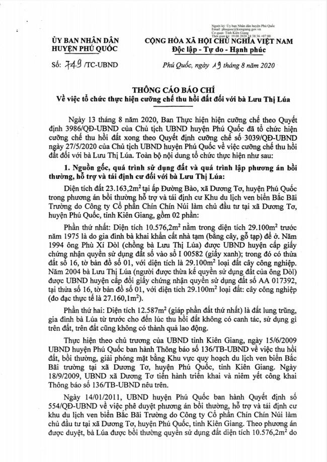 Vì sao UBND huyện Phú Quốc chưa thực hiện bản án? - Ảnh 4.