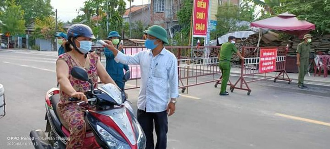 Quảng Nam: Anh Đào Quốc - Cán bộ HND trẻ nhiệt tình với công tác phòng chống dịch Covid-19 - Ảnh 4.