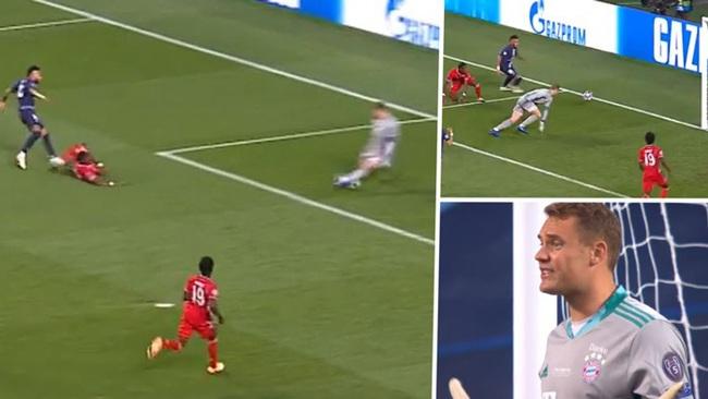 """Chân phải của Neuer được ví như """"vũ khí hủy diệt"""" PSG - Ảnh 1."""