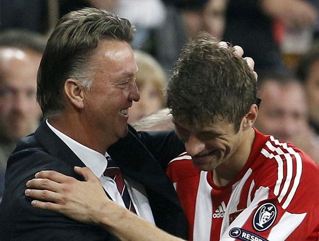Van Gaal từng muốn mang cậu học trò cũ Muller về M.U