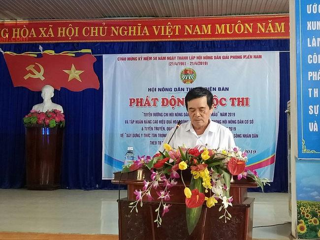 Quảng Nam: Thủ lĩnh Hội Nông dân tâm huyết với phong trào hội - Ảnh 1.