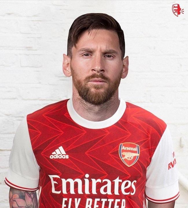"""ẢNH CHẾ: Rời Barcelona, Messi sang Việt Nam """"khuấy đảo"""" V.League - Ảnh 10."""
