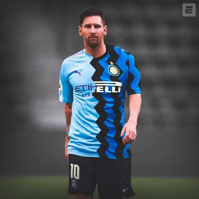"""ẢNH CHẾ: Rời Barcelona, Messi sang Việt Nam """"khuấy đảo"""" V.League - Ảnh 11."""