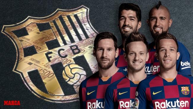 Barca sẽ tiết kiệm khoản tiền khổng lồ nếu bán cả 5 cầu thủ này