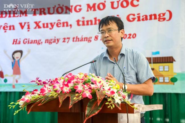"""Báo NTNN/Dân Việt - Quỹ Thiện Tâm: Khánh thành """"điểm trường mơ ước"""" đầu tiên tại Hà Giang - Ảnh 3."""