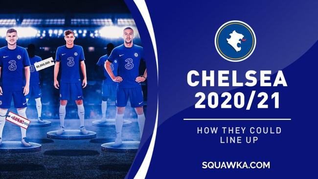 Havertz (giữa), dự kiến sẽ gia nhập Chelsea trong thời gian tới