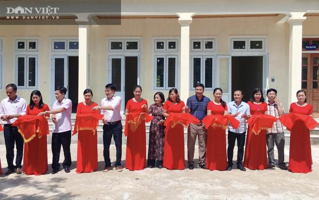 """NTNN/Dân Việt - Quỹ Thiện Tâm khánh thành """"Điểm trường mơ ước"""" tại Nghệ An - Ảnh 3."""