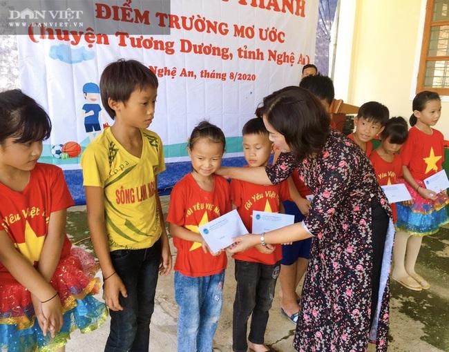"""NTNN/Dân Việt - Quỹ Thiện Tâm khánh thành """"Điểm trường mơ ước"""" tại Nghệ An - Ảnh 2."""