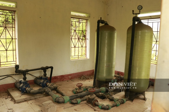 Yên Bái: Đầu tư tiền tỷ xây nhà máy nước rồi bỏ hoang - Ảnh 6.