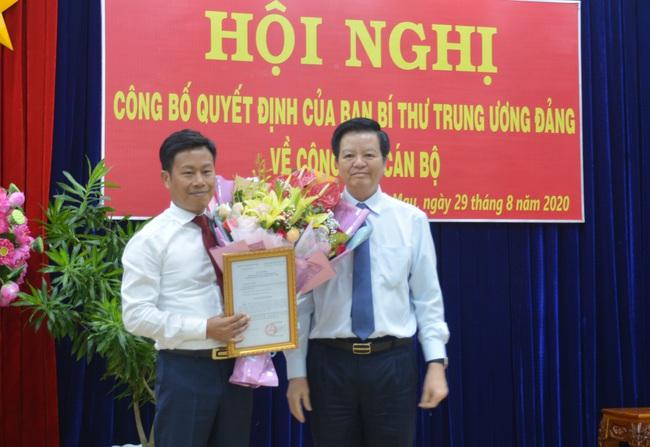 Thứ trưởng Bộ LĐTBXH làm Phó Bí thư Tỉnh ủy Cà Mau - Ảnh 1.