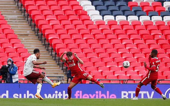 Arsenal đoạt Siêu cúp Anh, HLV Arteta báo ngay 1 tin về Aubameyang - Ảnh 1.
