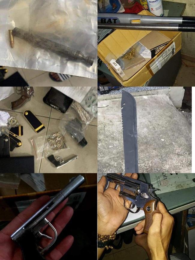 Kho vũ khí của bảo vệ kiêm giữ xe của Bệnh viện quận 9 - Ảnh 1.